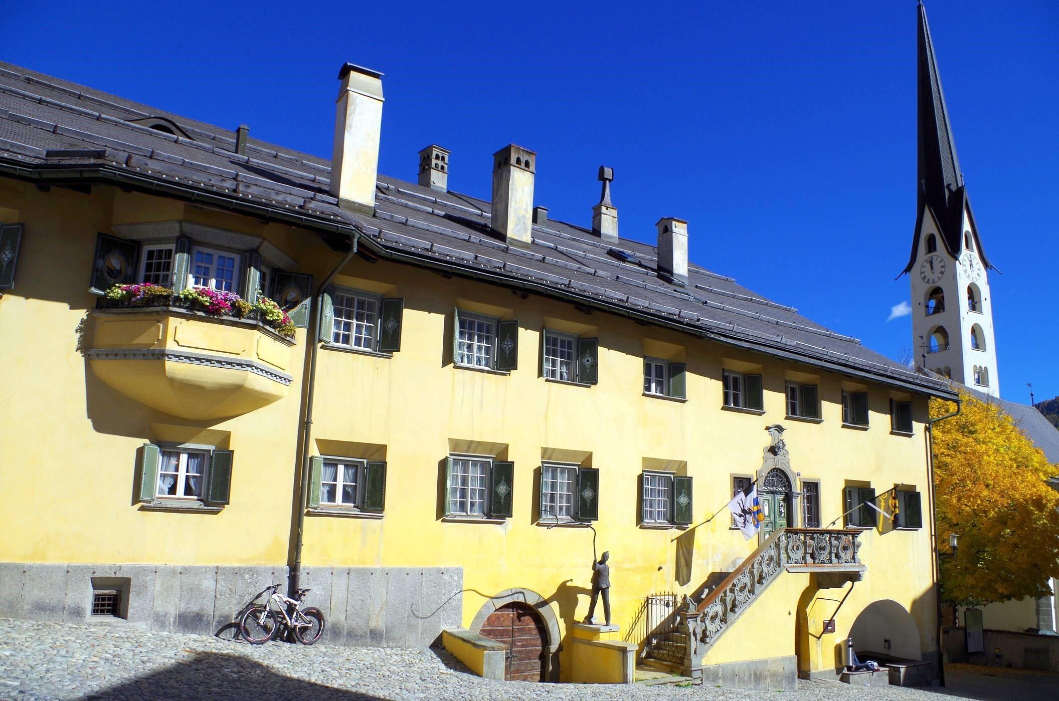 Historic village centre Slide 7