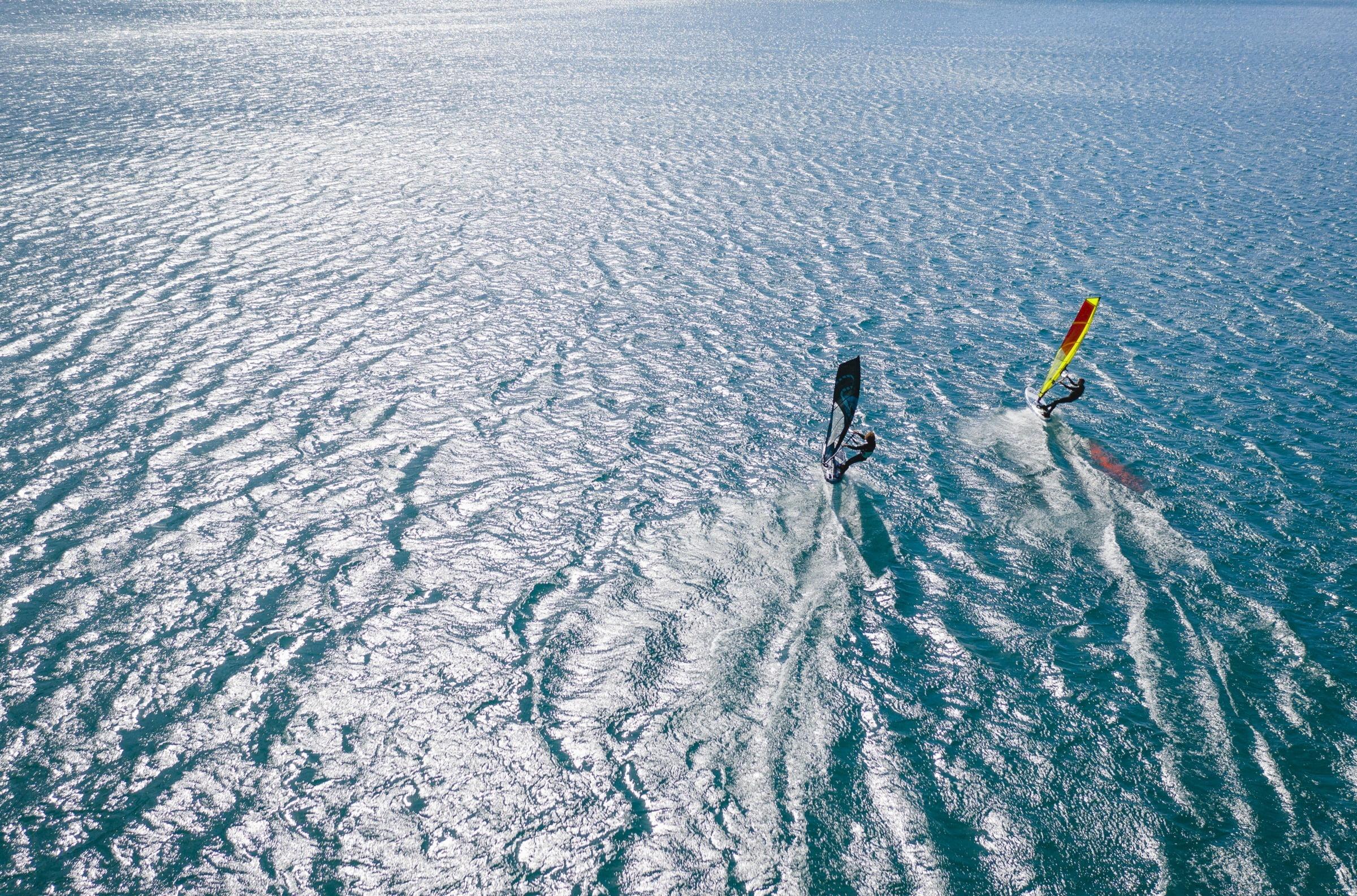 Windsurfing Sarah Missiaen