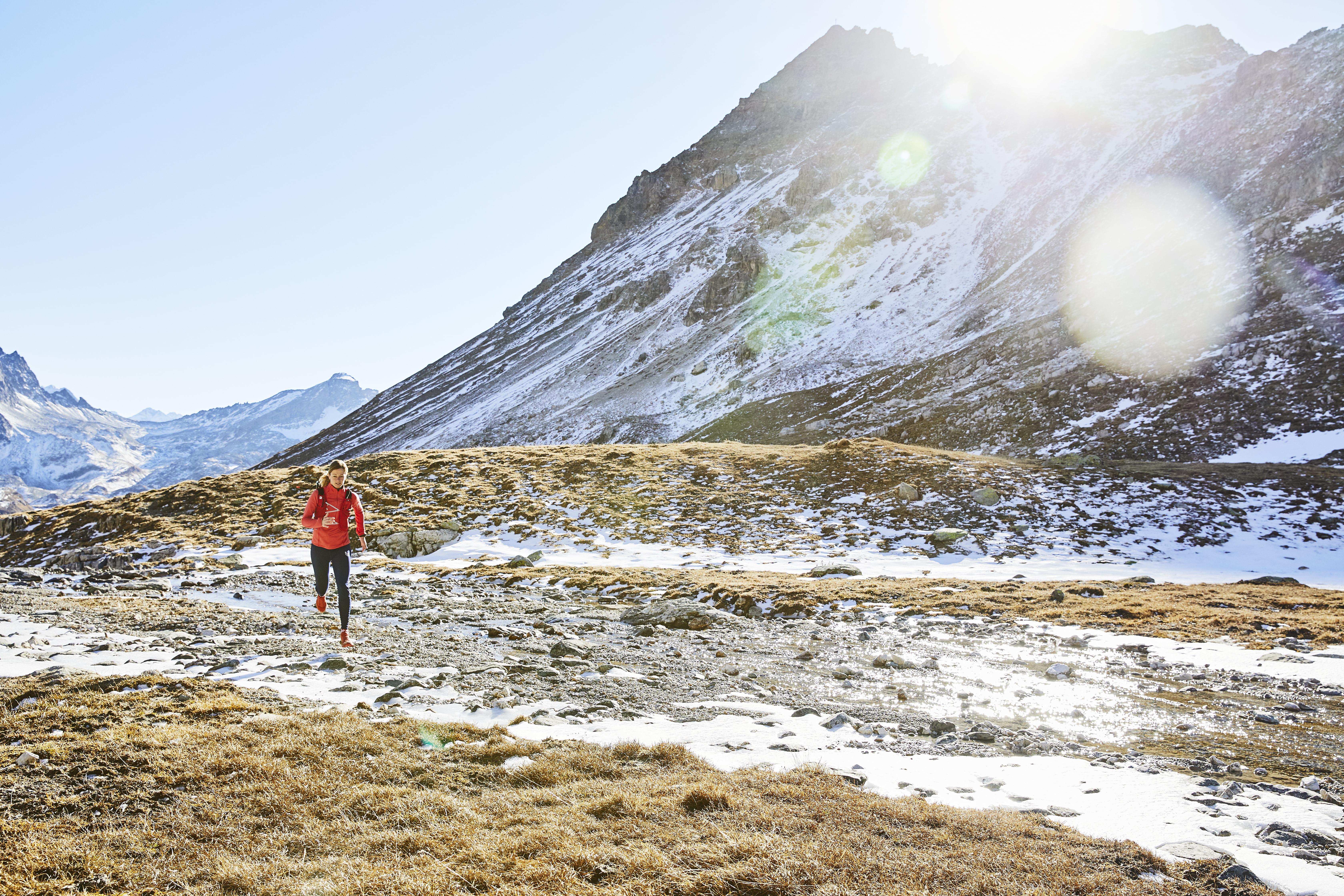 Anne-Marie Flammersfeld Winter Trailrunning