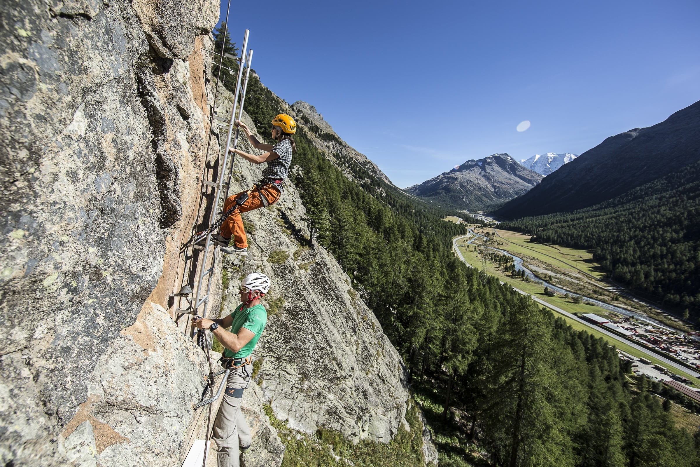 Klettergarten am Morteratsch
