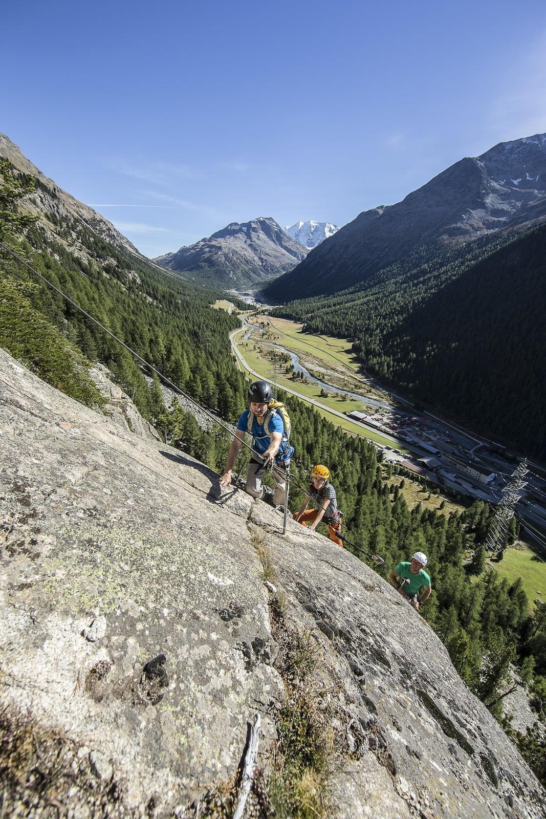 Klettersteige La Resgia