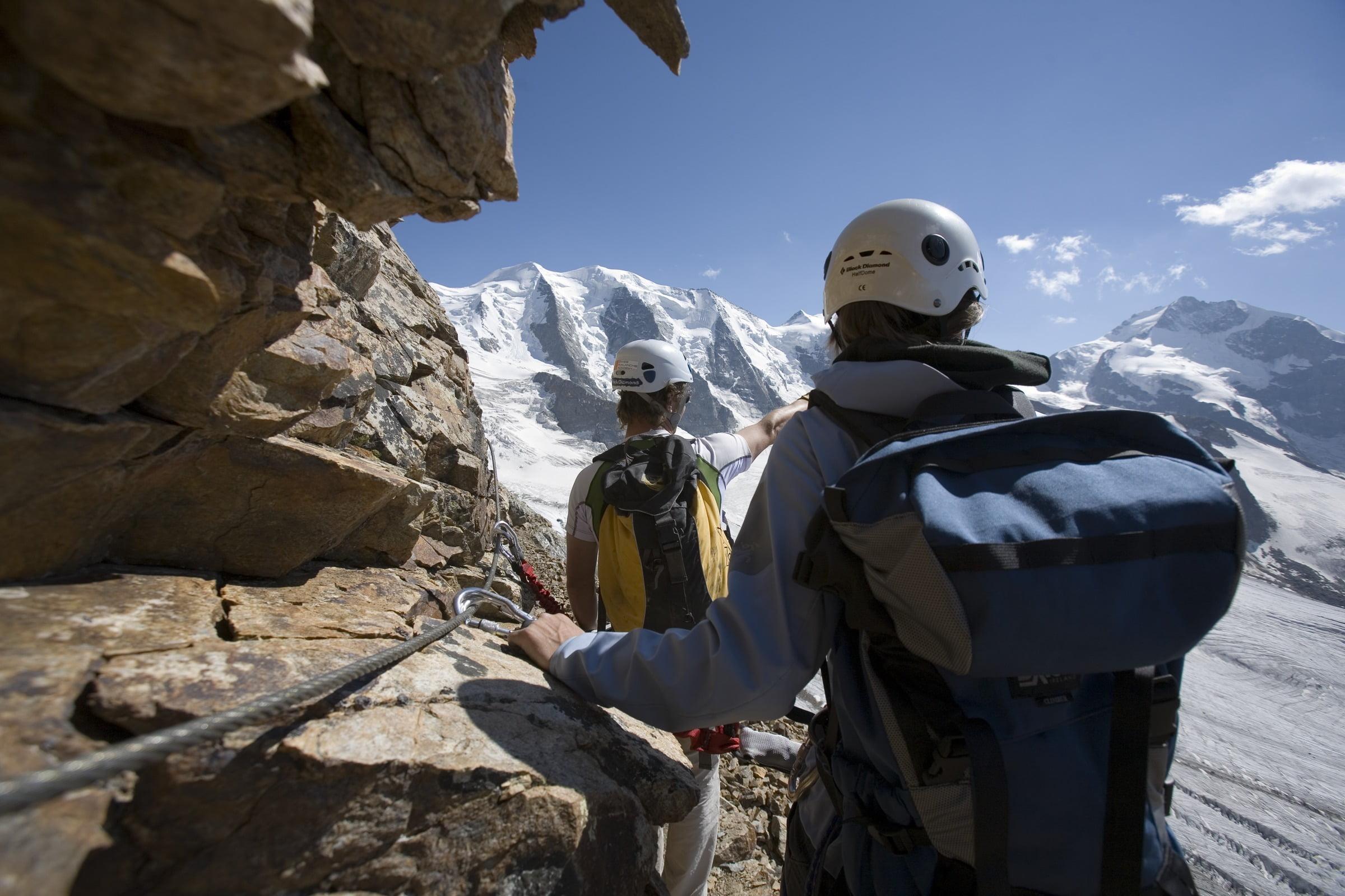 Klettersteig Piz Trovat I