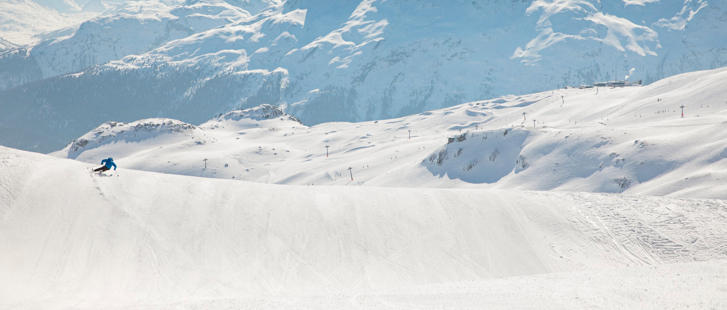Ski slope report Corviglia