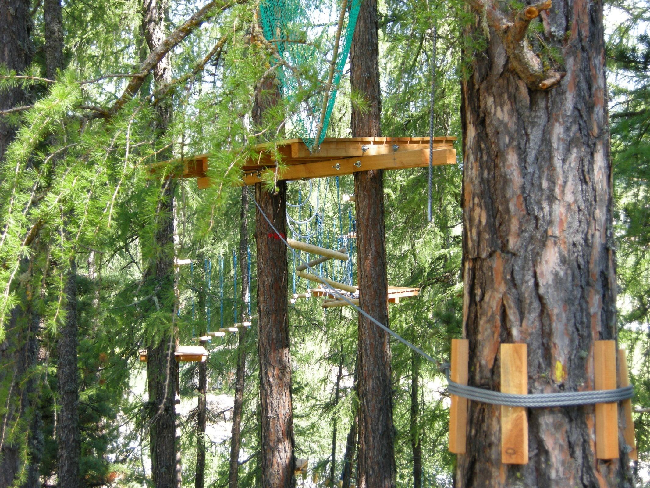 Pontresina high ropes course