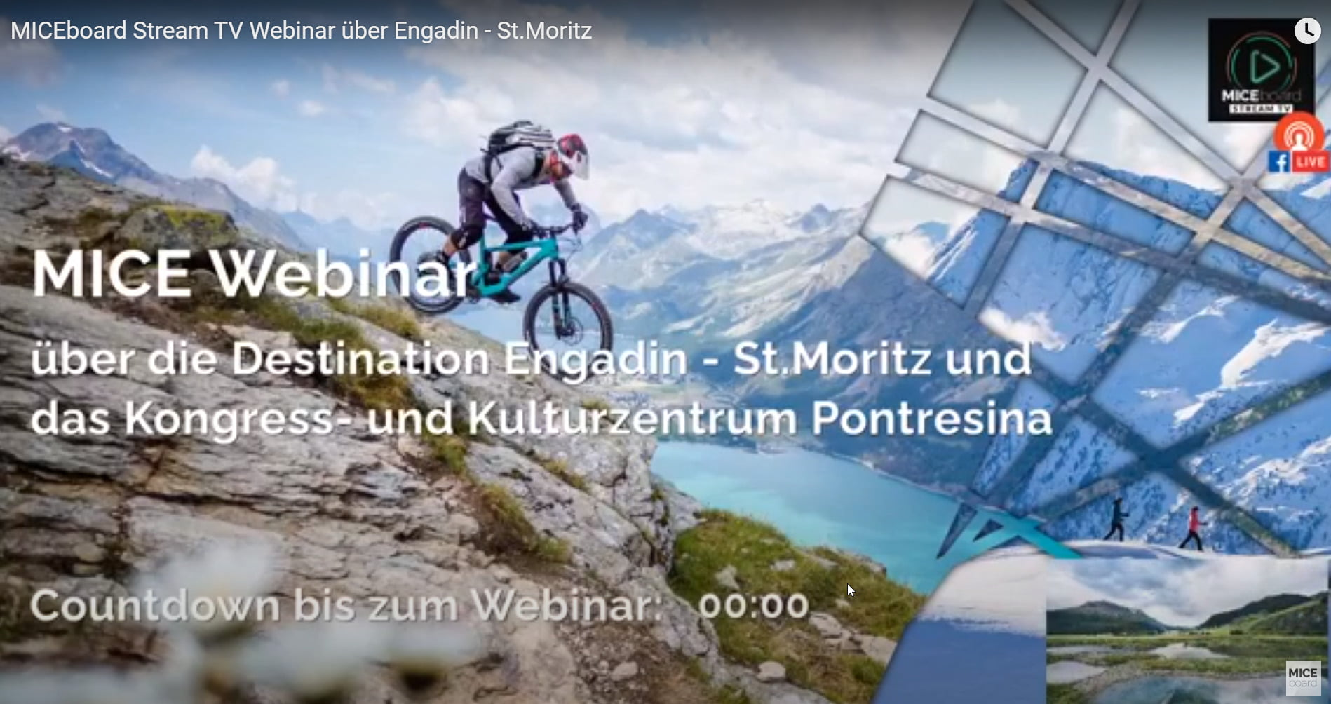 Webinar Engadin St. Moritz
