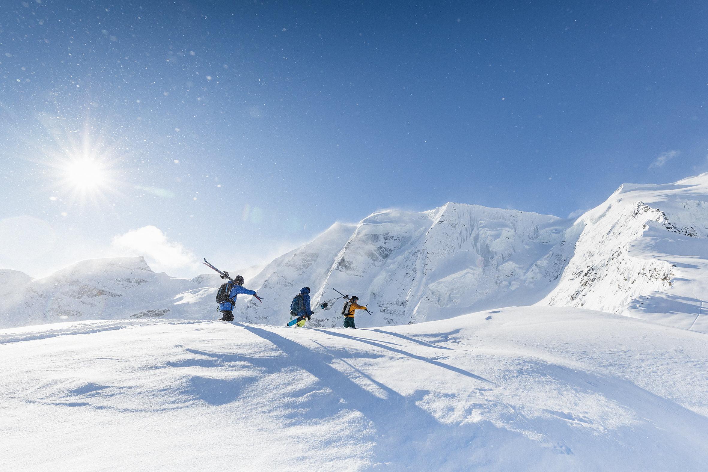 Ski tours & mountaineering