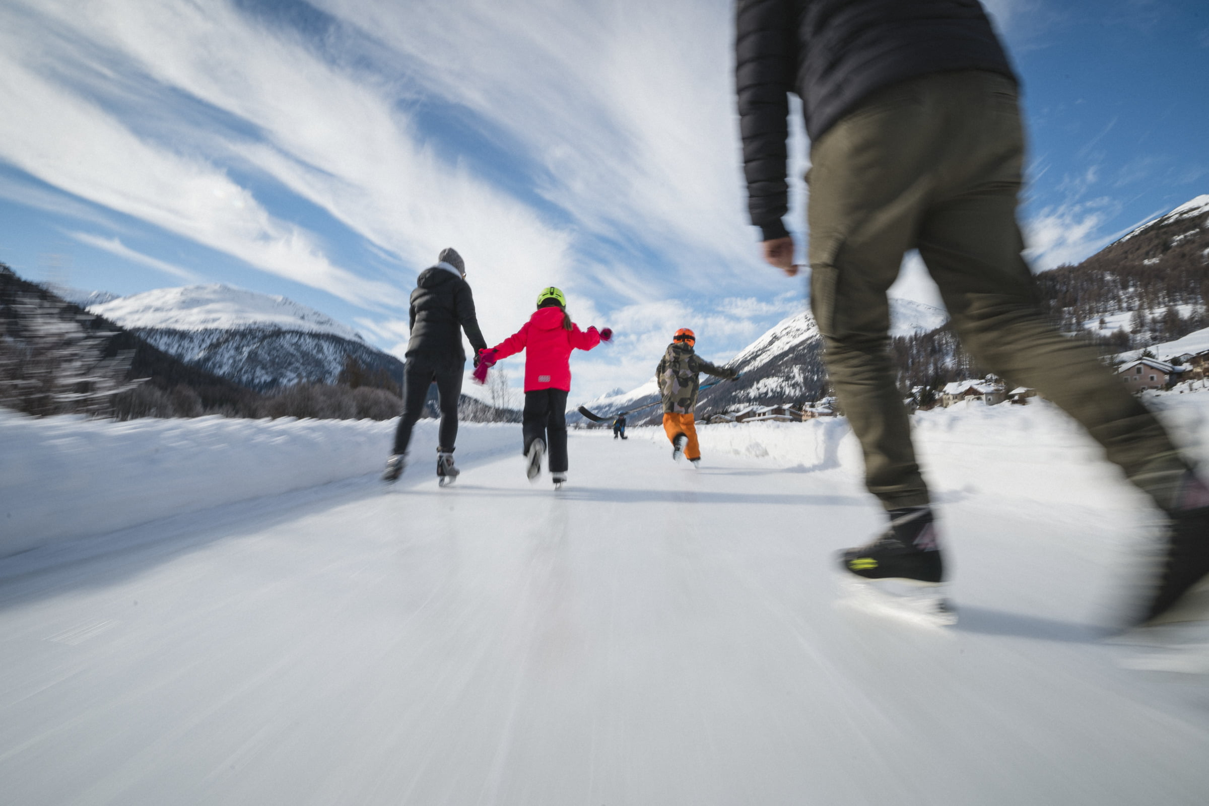 Winter fun for families