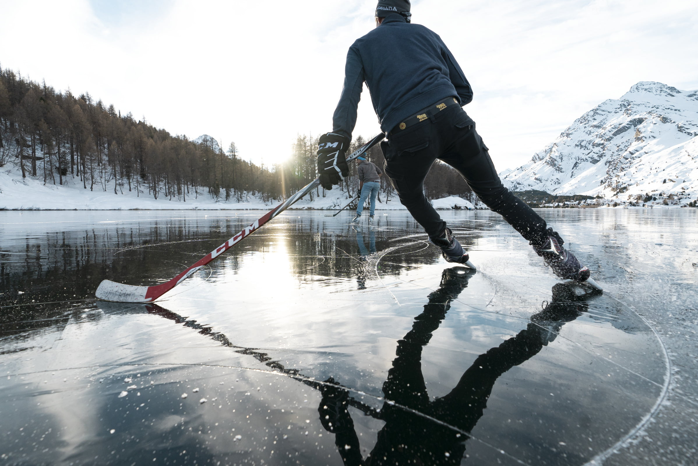 Behavior tips in the Engadin nature