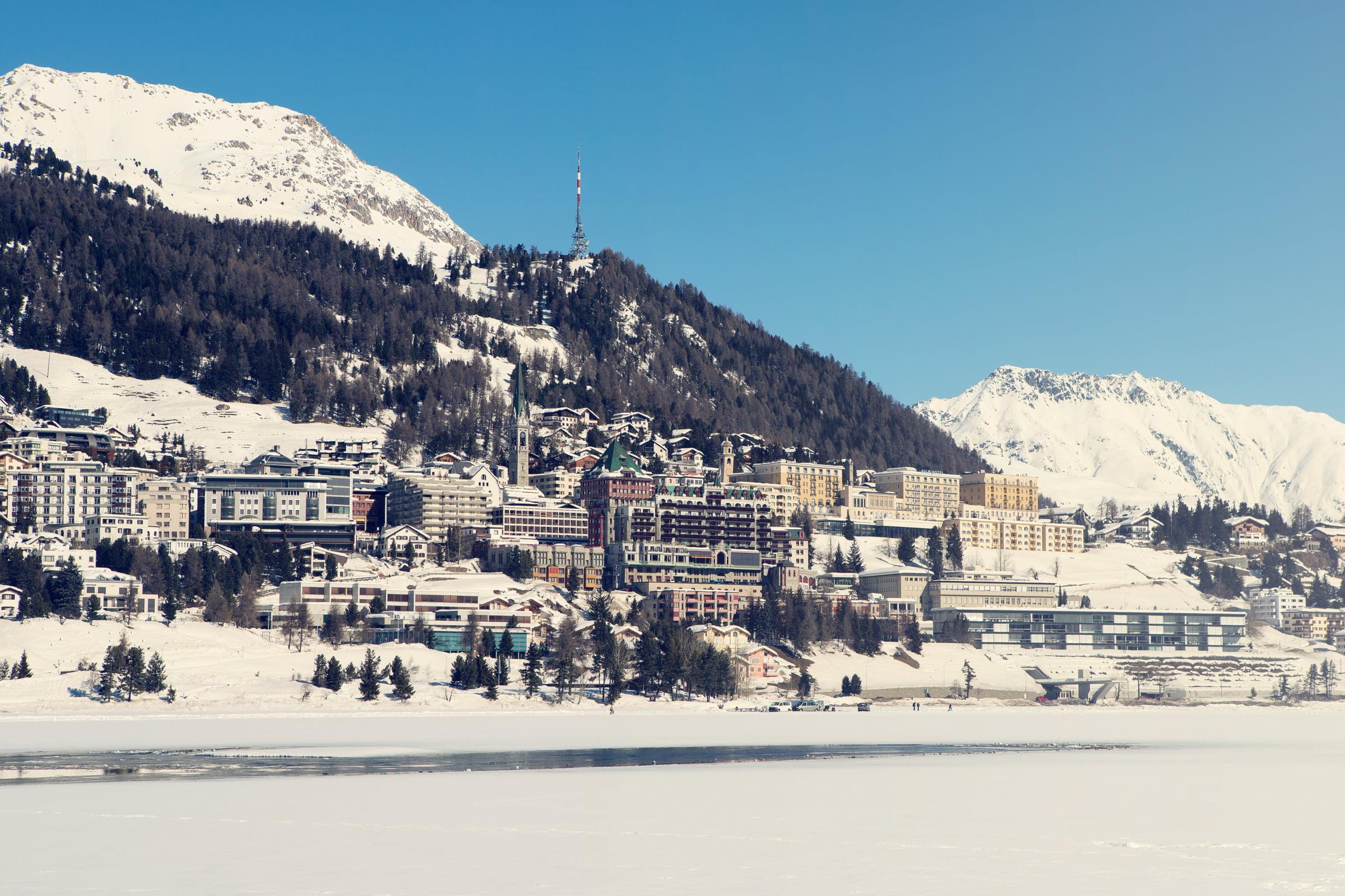 Vintage St. Moritz Poster