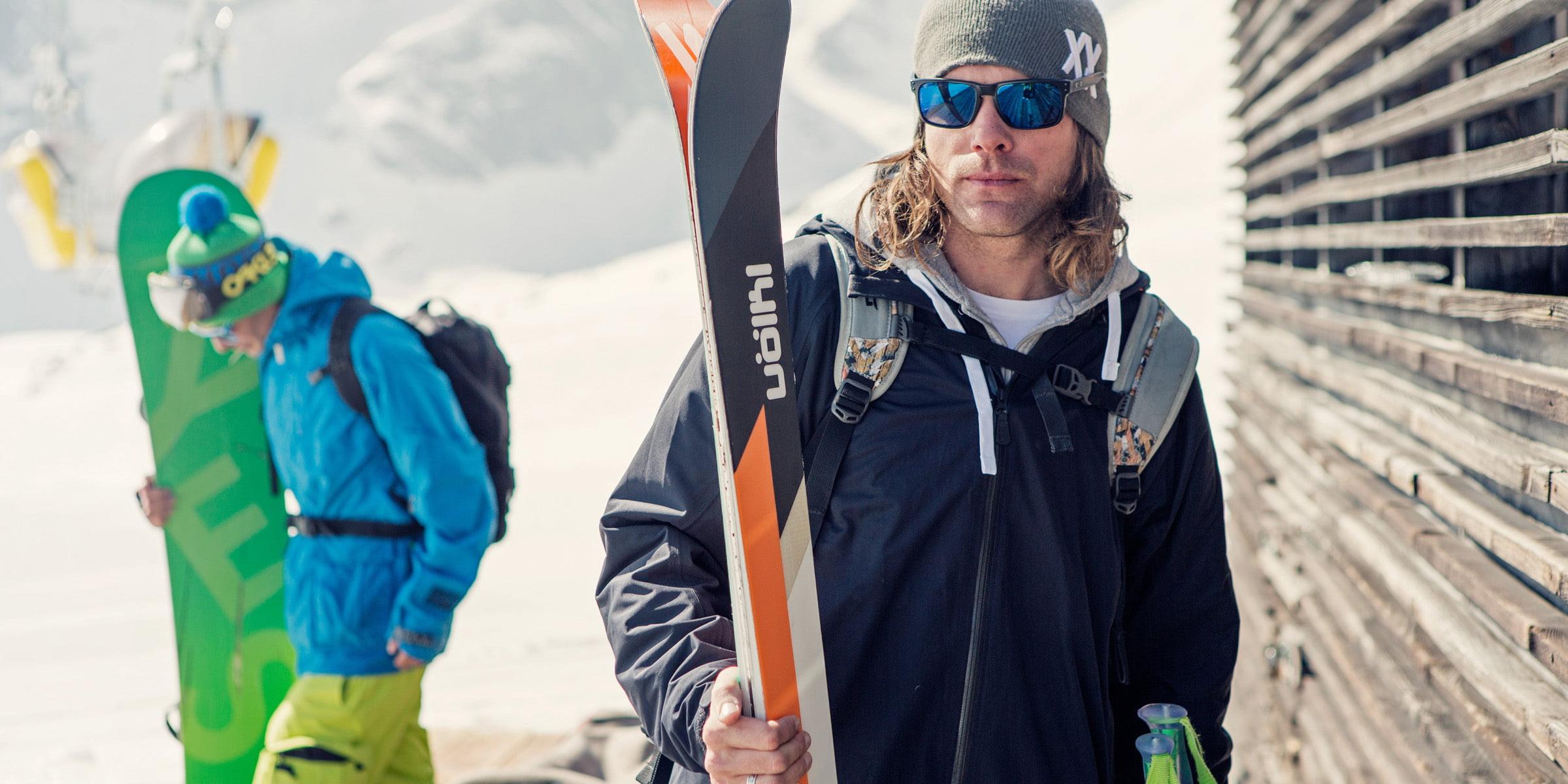 Ski Freeride im Skigebiet Corviglia Piz Nair