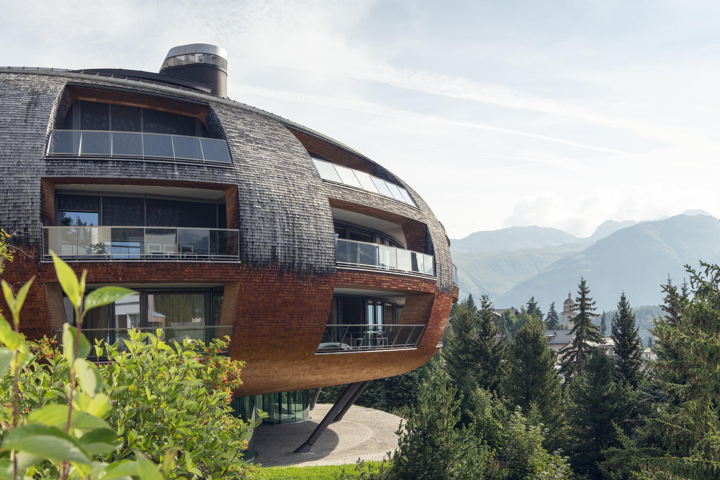 Chesa Futura - Das Haus der Zukunft