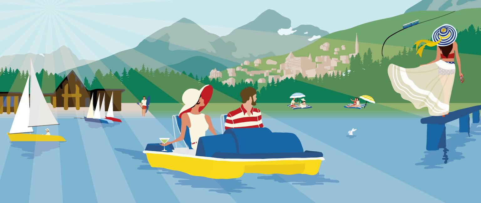 «Sommersujet St. Moritz»