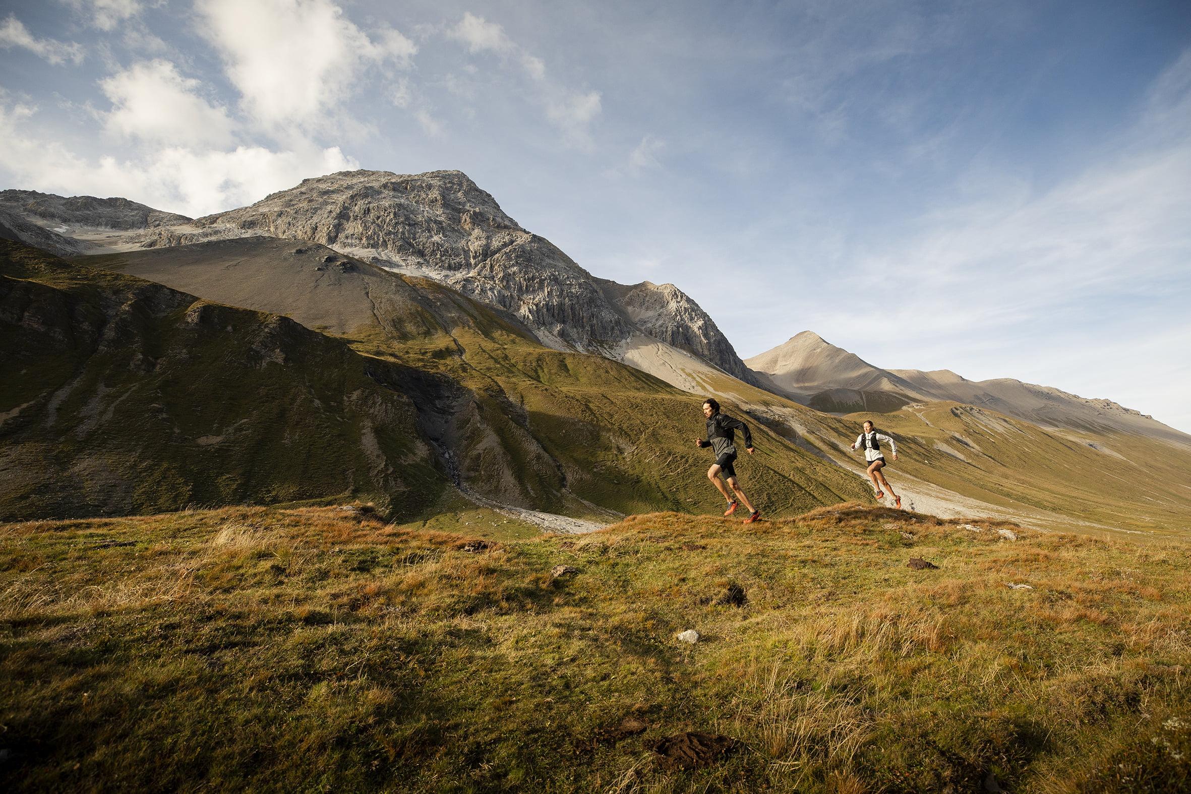 Running on unpaved terrain