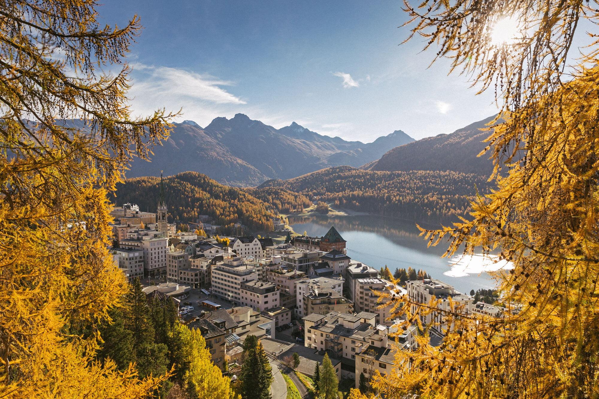 Spätsommer in St. Moritz