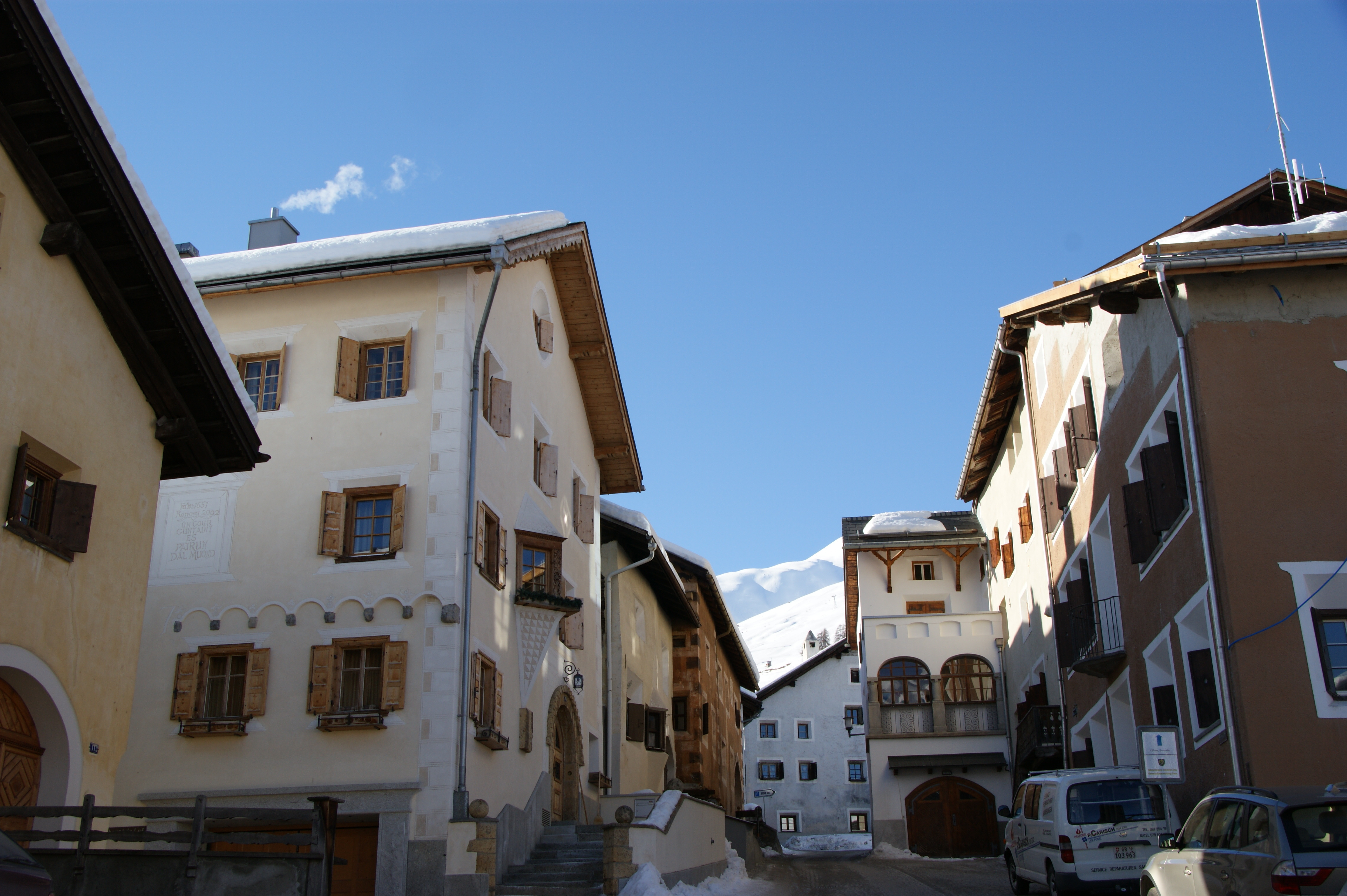Historic village centre Slide 3