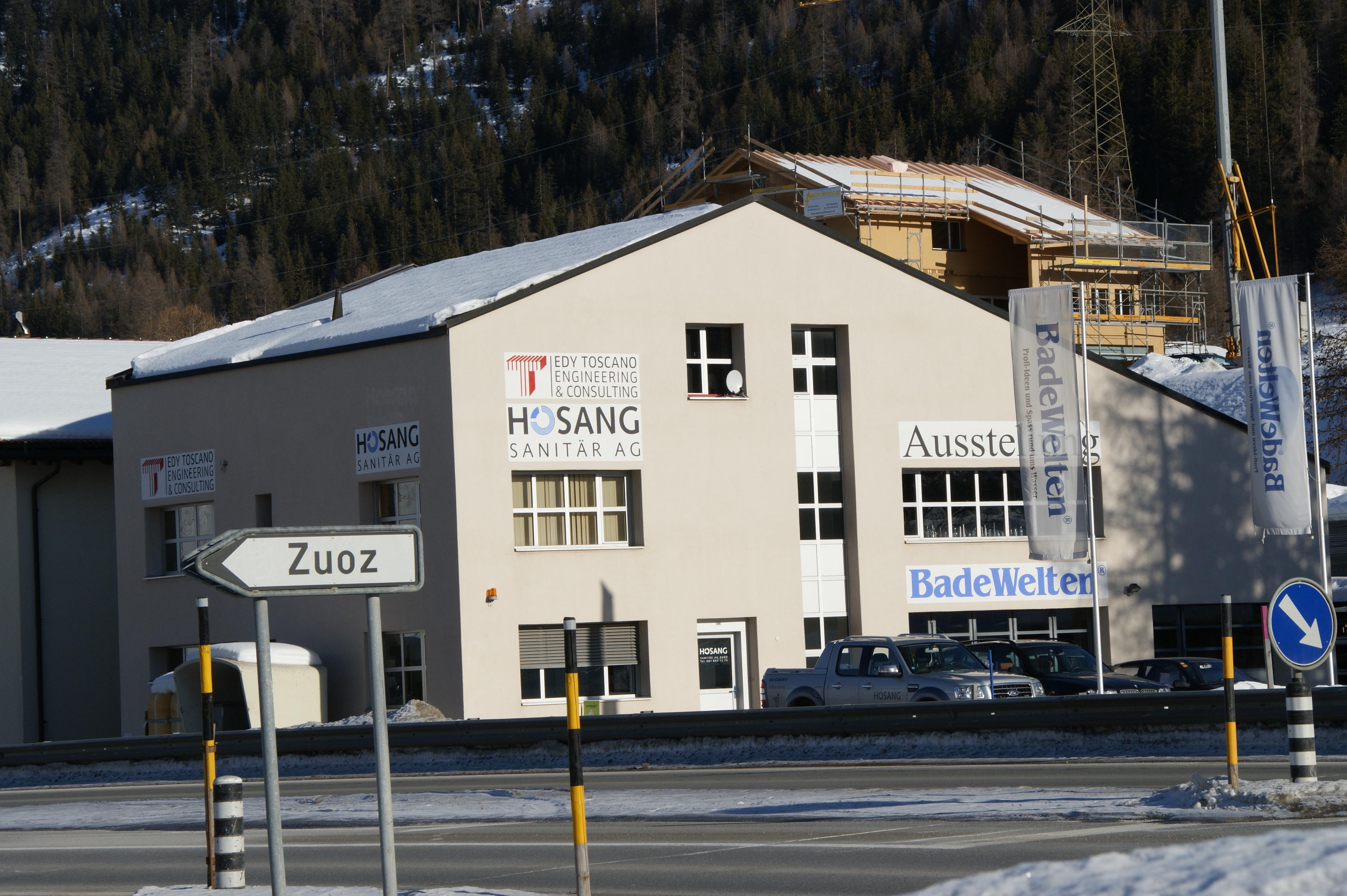 Hosang Sanitär AG Slide 1