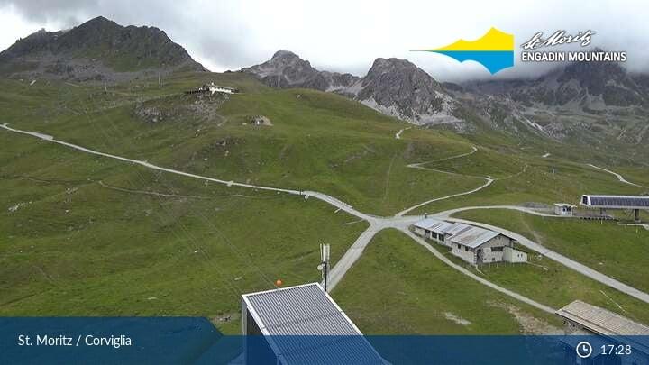 St. Moritz Corviglia Snowpark