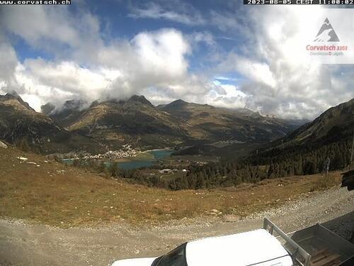 Silvaplana Alpetta towards St. Moritz
