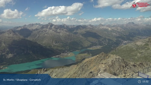 Webcam Corvatsch View Silvaplana