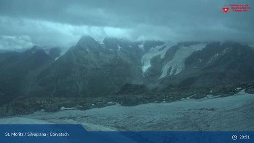 Silvaplana Corvatsch towards Piz Bernina