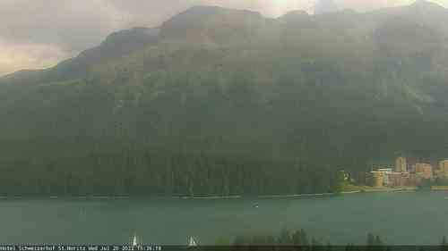 Webcam lago di St. Mortiz