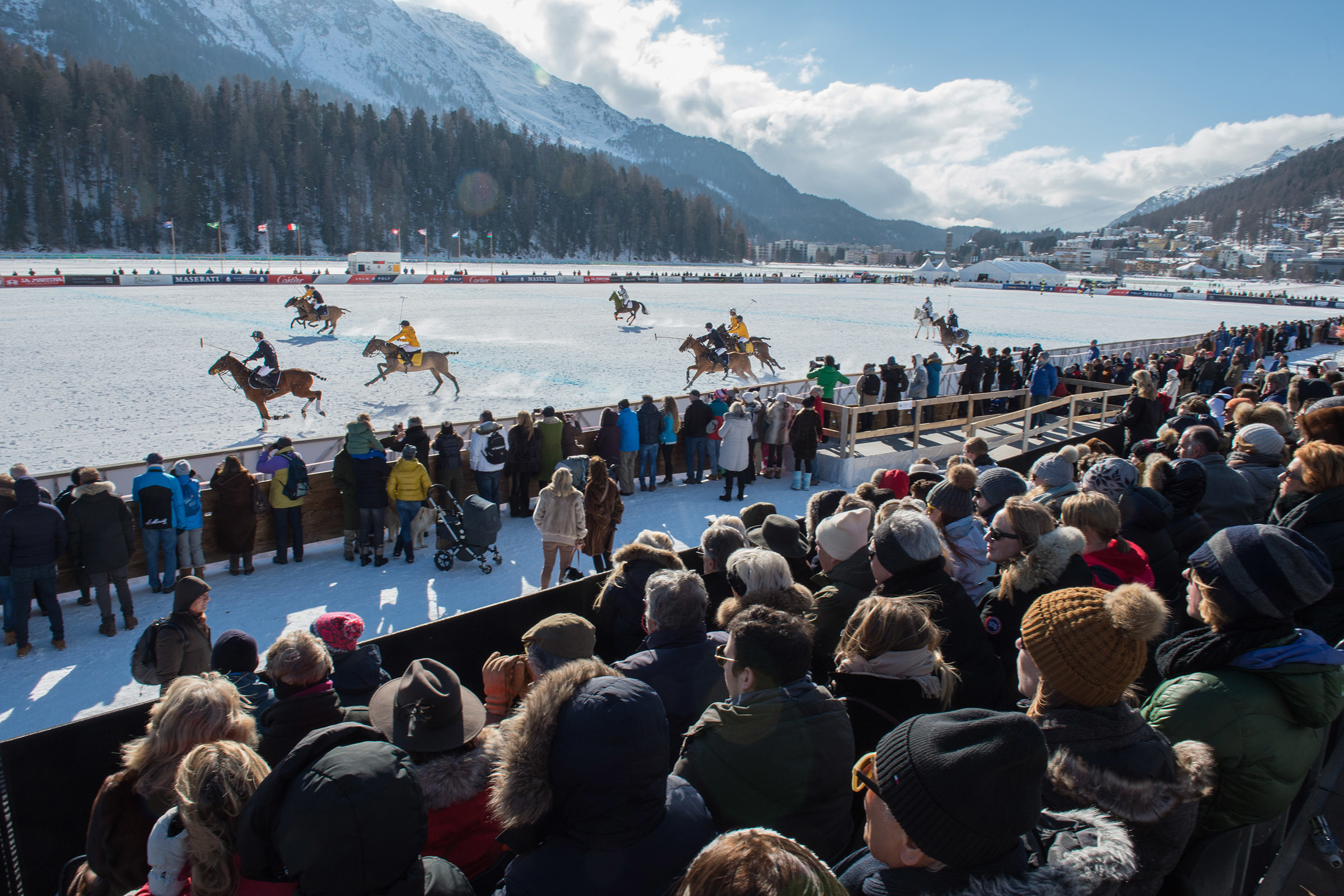 36th Snow Polo World Cup St. Moritz