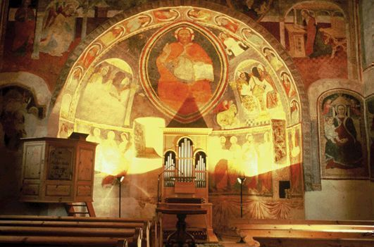 Guided visit Church Sta. Maria with frescoes