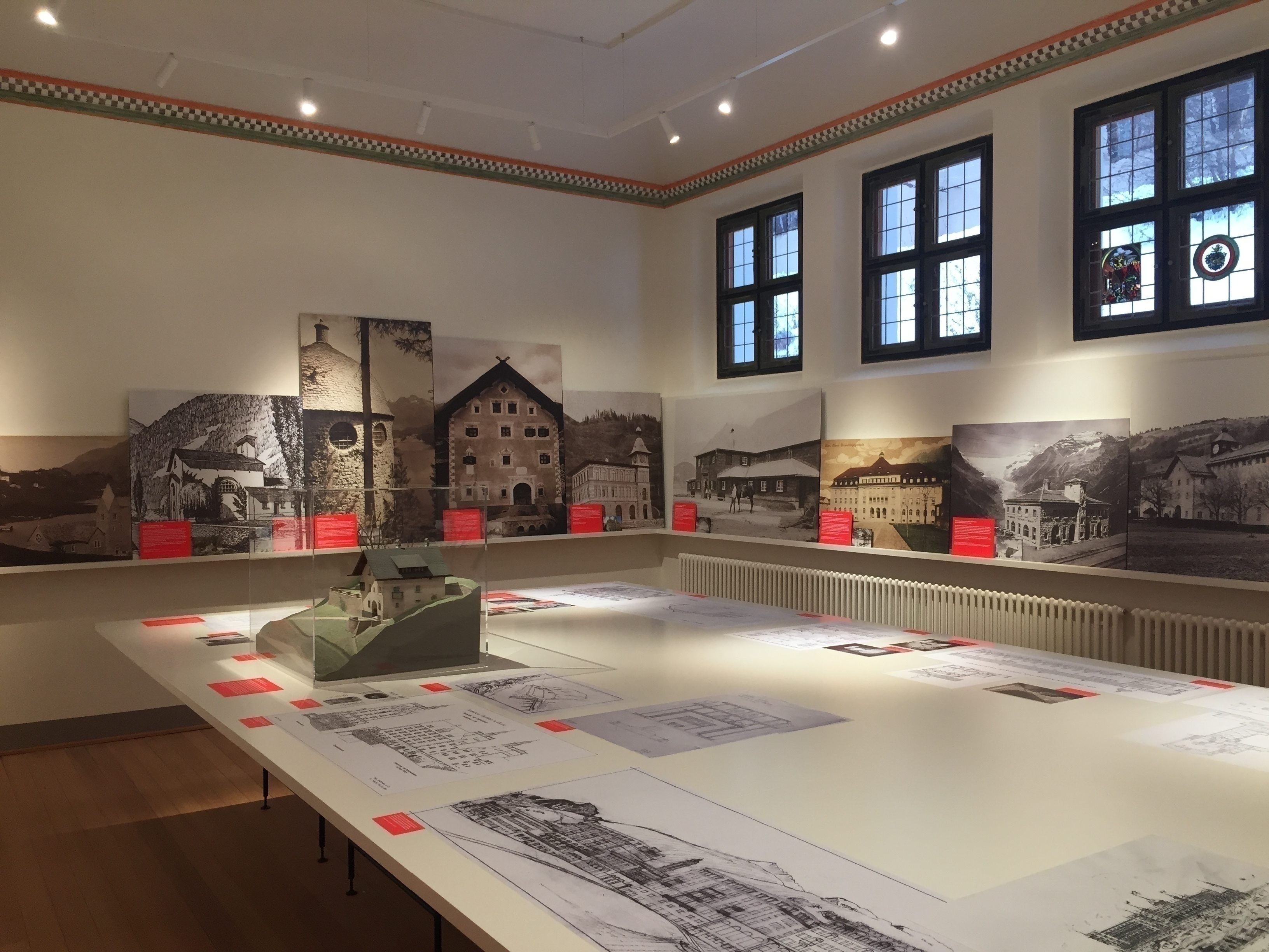 Museum Engiadinais: Special exhibition Hartmann - Architecture of a family