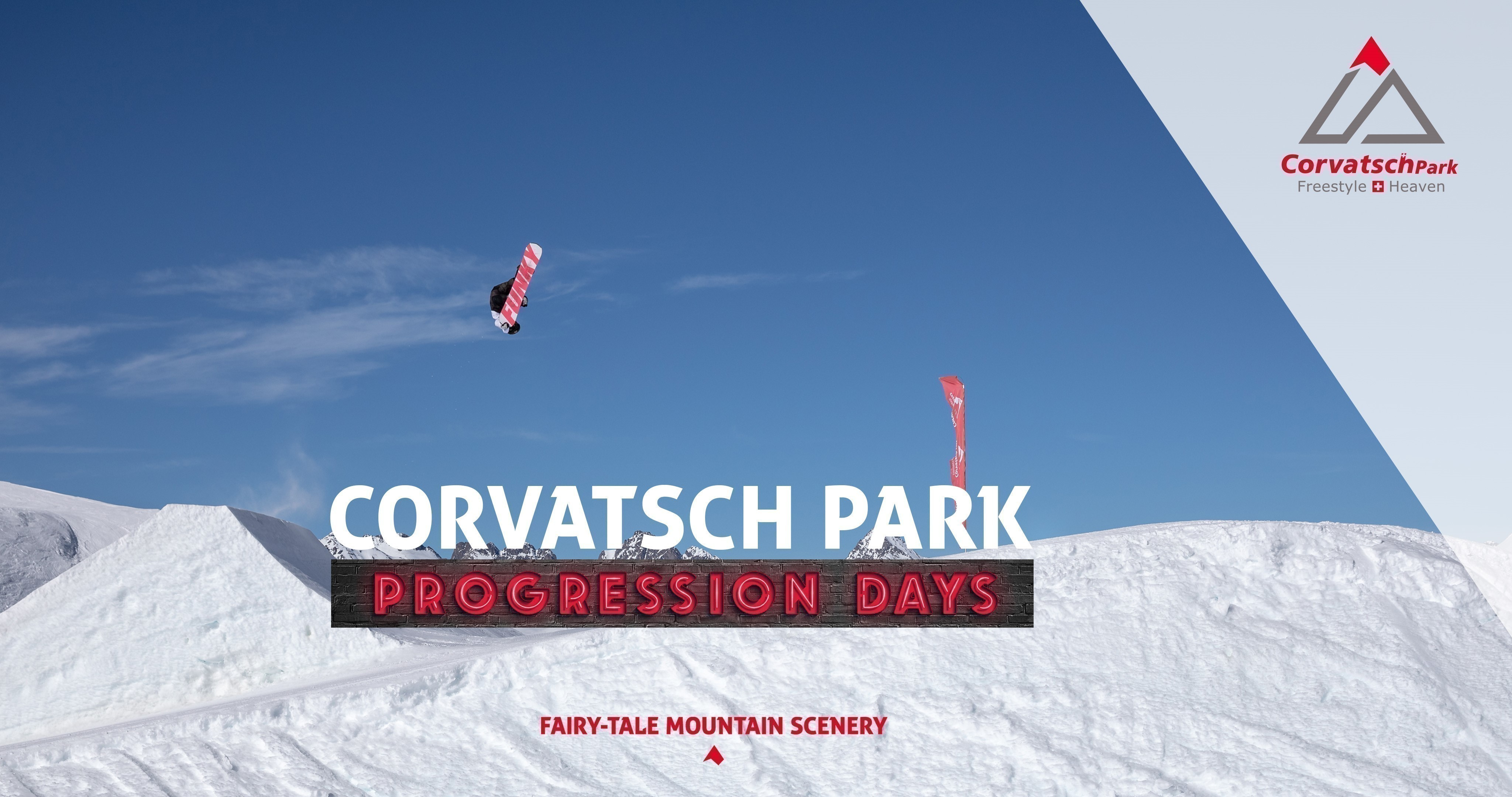 Corvatsch Park Progression Days