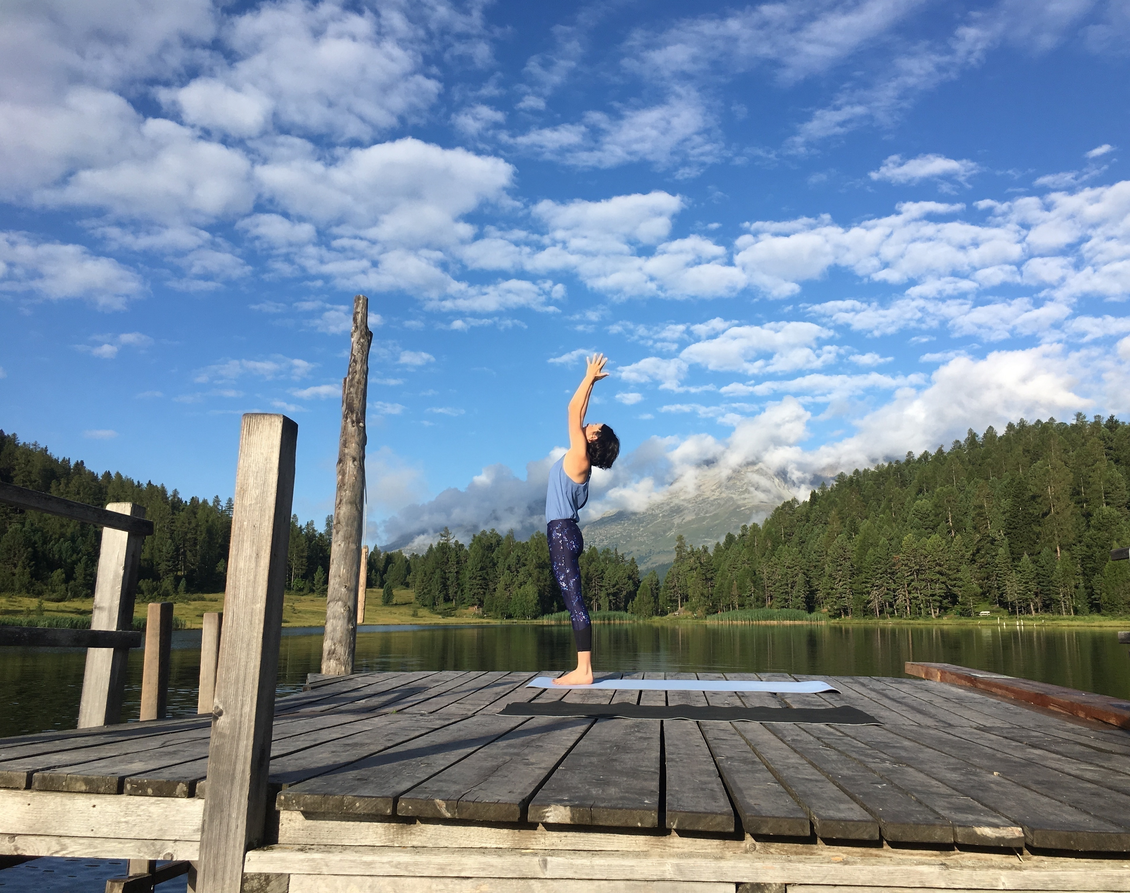 Yoga am Stazersee