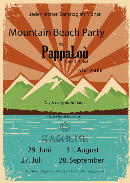 Silvaplaya Beach Party