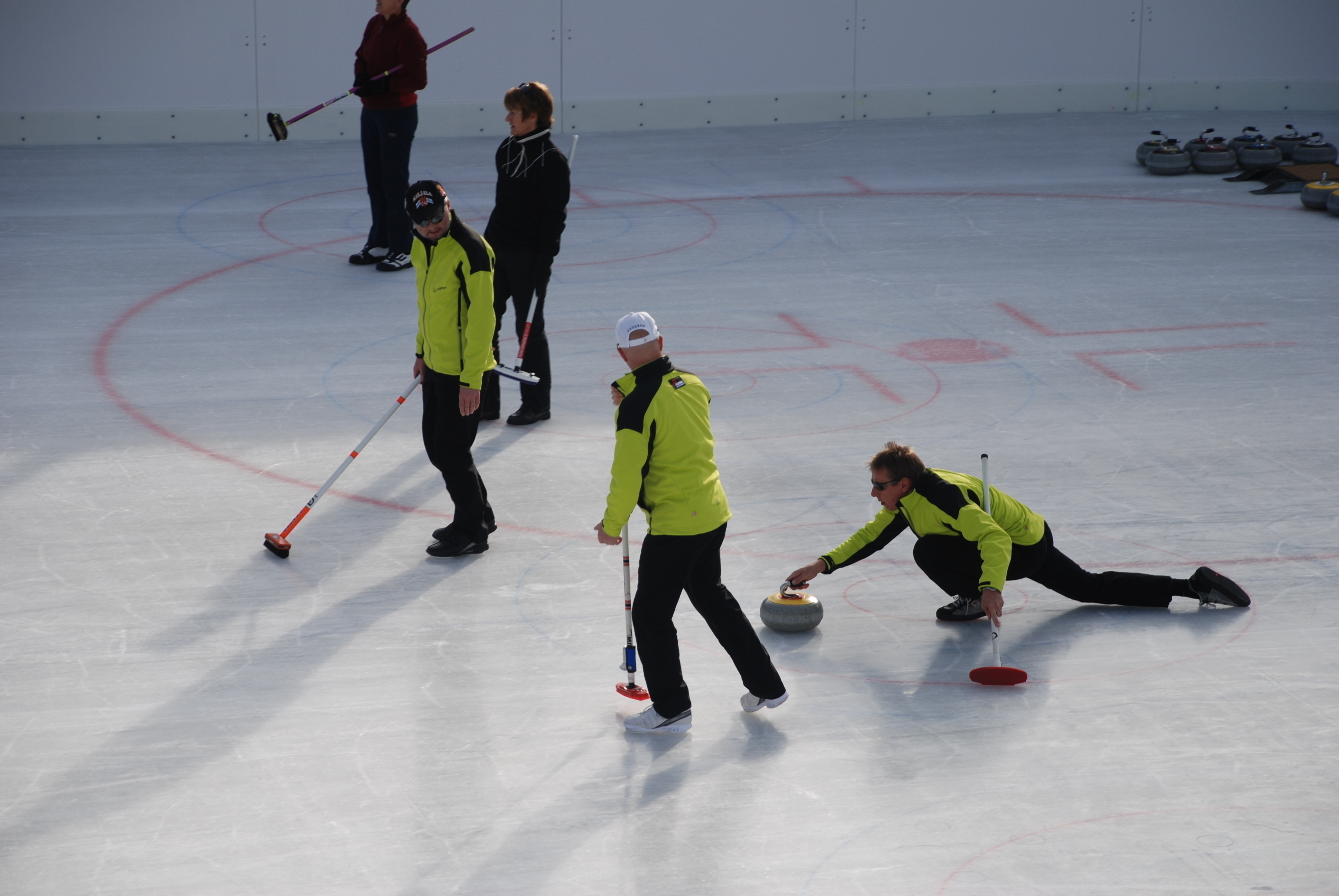 Curling Training