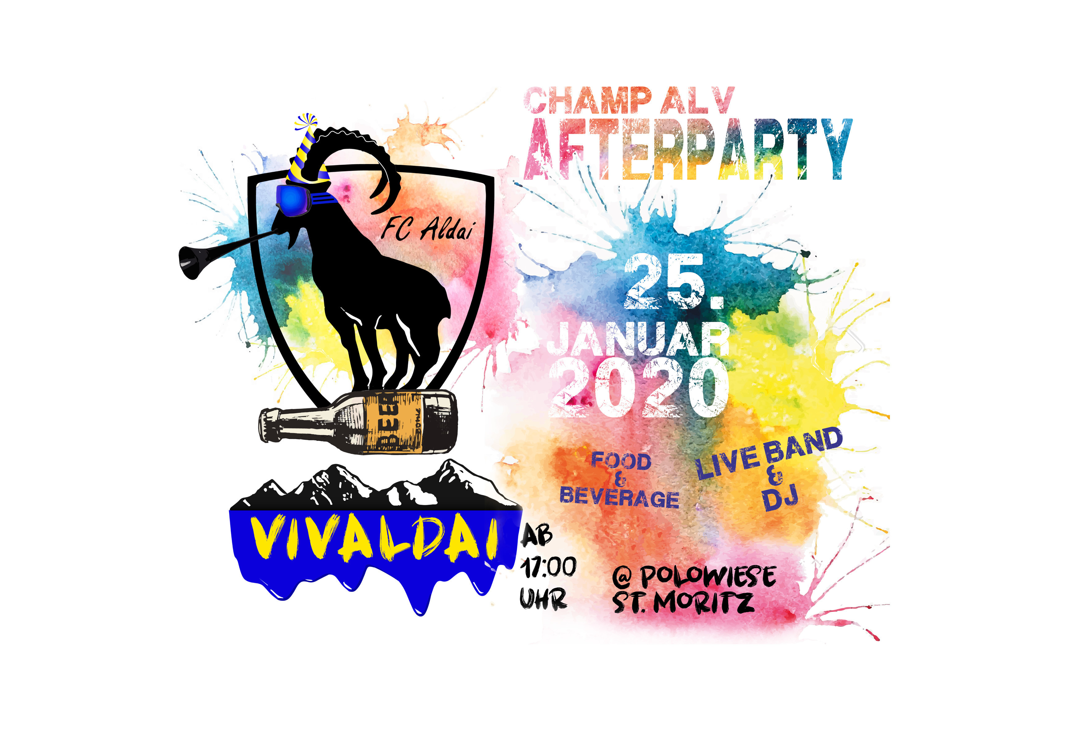 Champ Alv Afterparty - VIVALDAI