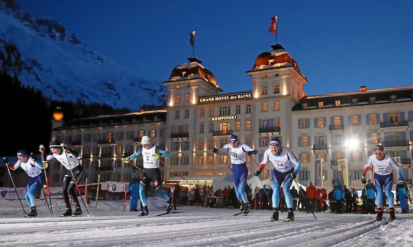 First St. Moritz Supersprint - cross-country ski sprinting over 100 metres
