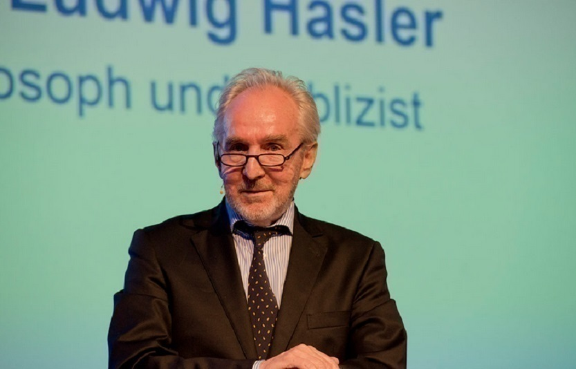 Author and philosopher Ludwig Hasler