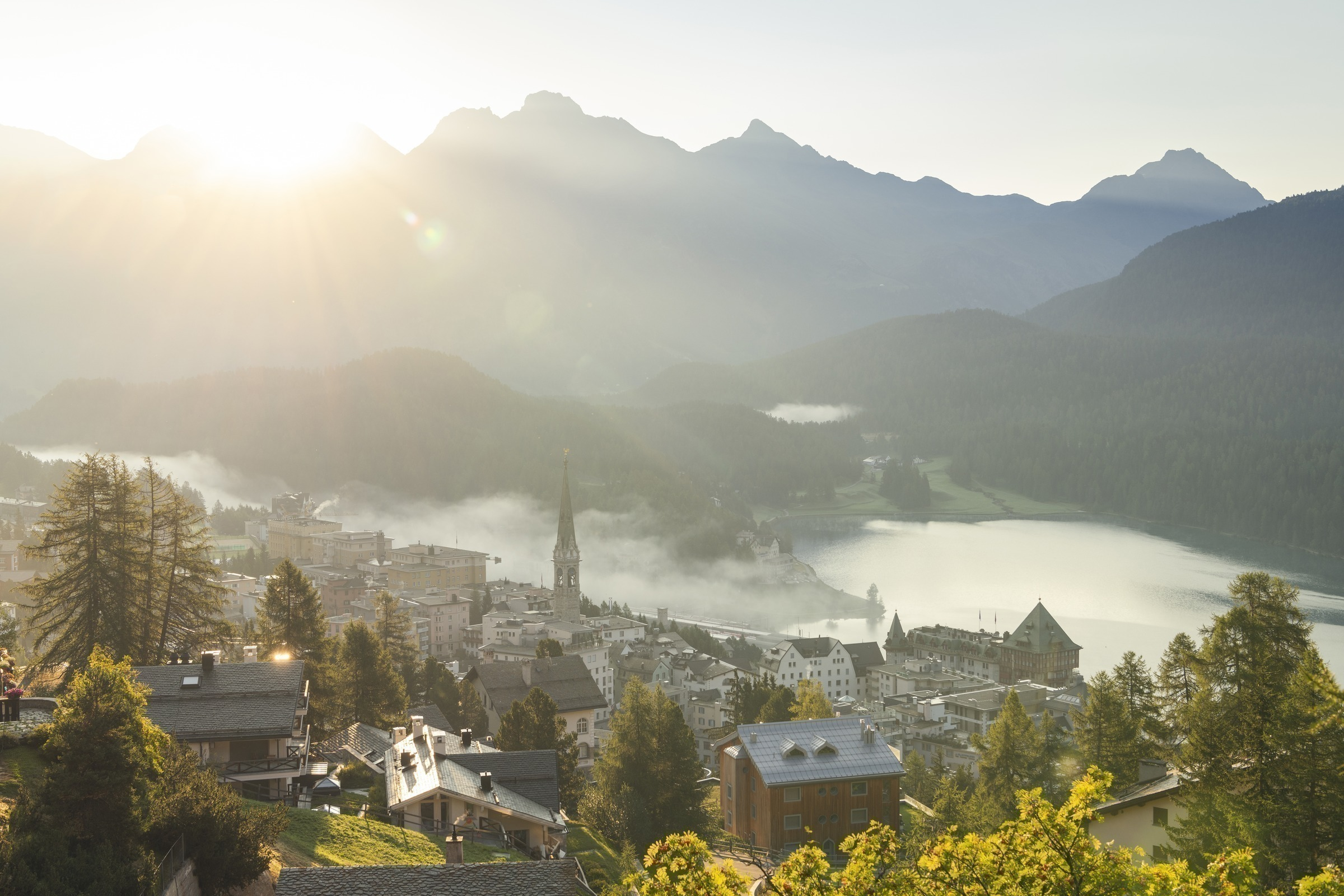 Guided City Tour of St Moritz