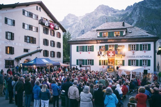 1. August: Bundesfeier in Sils