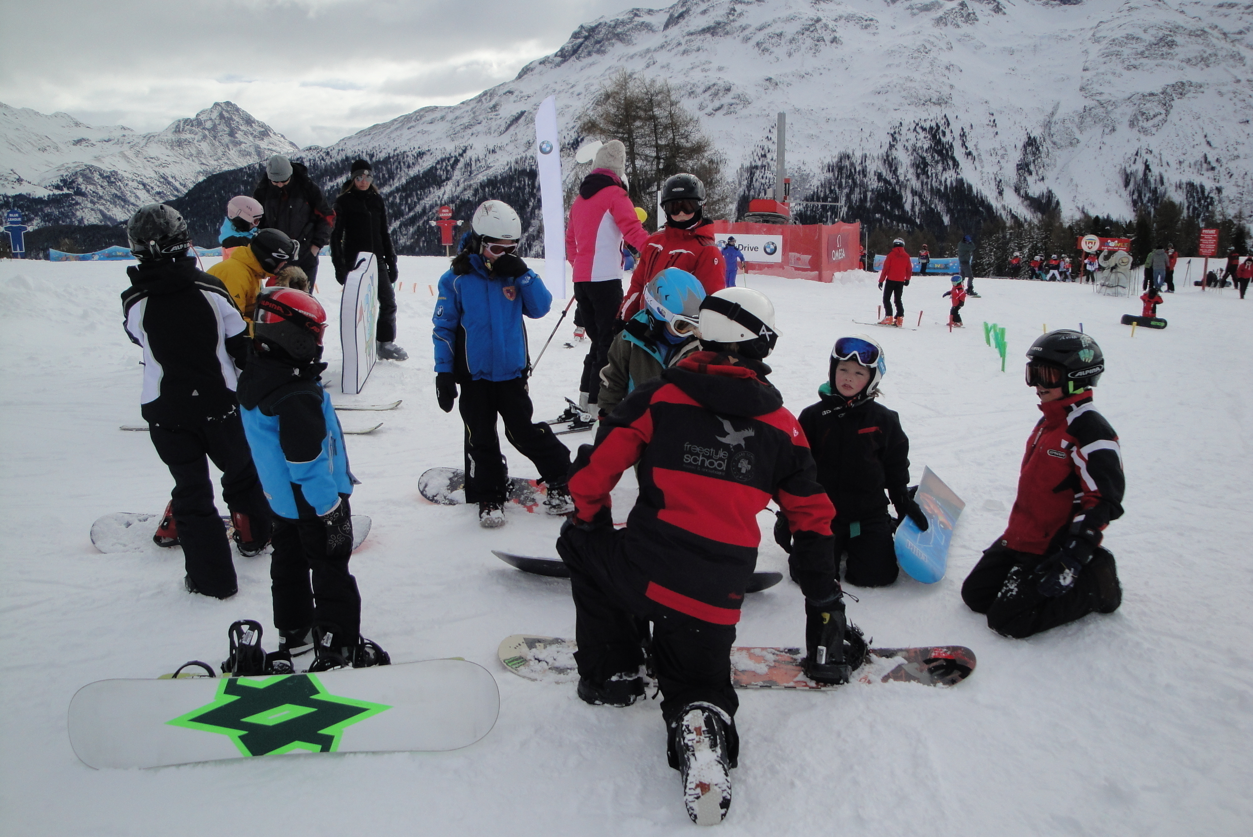 FIS World Snow Day in the Engadin